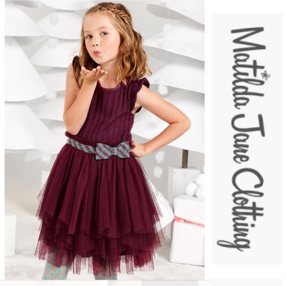 5b48d821ee46 Once Upon a Time Burgundy Soiree Tulle Tutu Dress